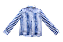 Nora Stripy Silk Shirt