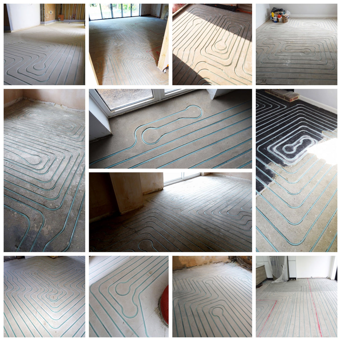 Underfloor Heating - Below Ground