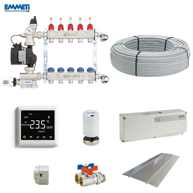 Single & Multi-Zone Underfloor Heating Kits