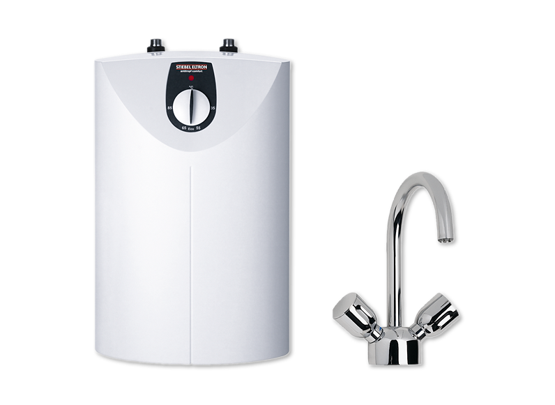 Water Heater with tap - Undersink - Open Vented