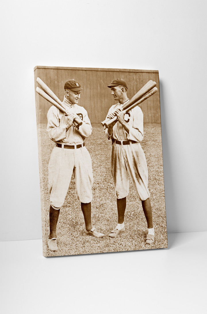 Ty Cobb and Joe Jackson, 1913