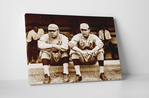 Babe Ruth & Ernie Shore as Red Sox, 1915
