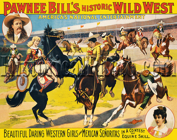 Pawnee Bill: Daring Western Girls