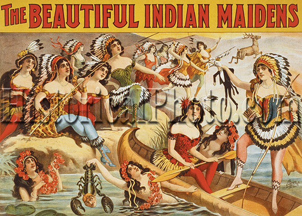 The Beautiful Indian Maidens