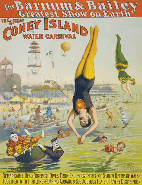 Barnum & Bailey: Coney Island Water Carnival 2