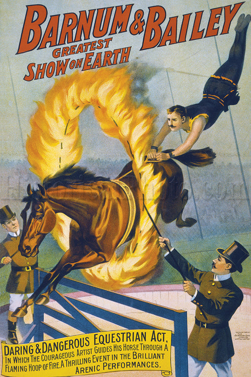 Barnum & Bailey: Flaming Hoop