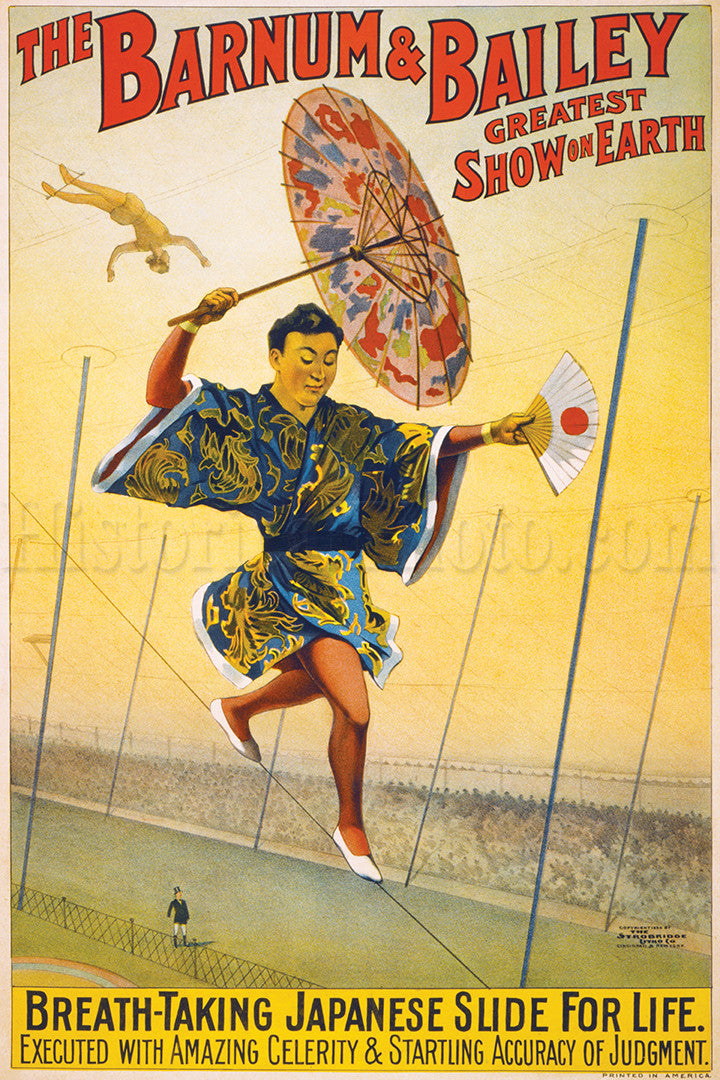 Barnum & Bailey: Japanese Slide