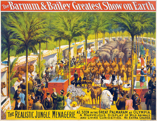 Barnum & Bailey: Jungle Menagerie