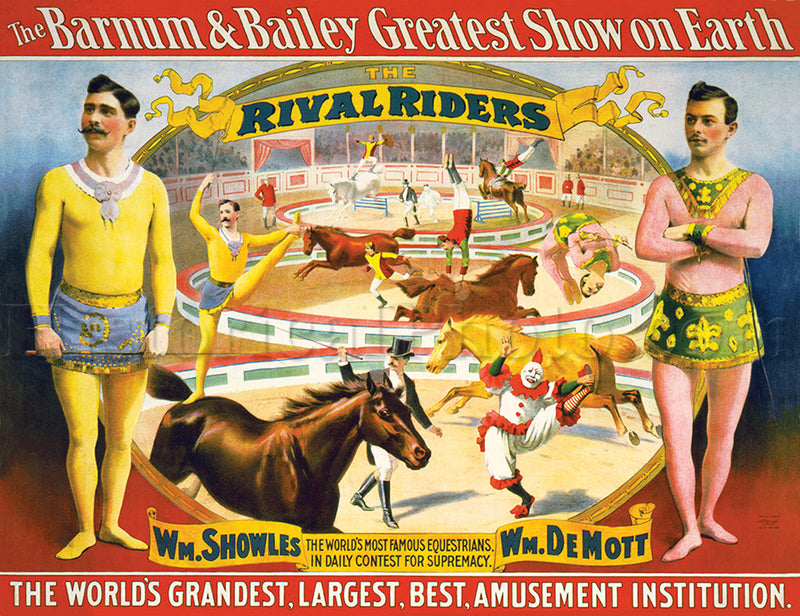 Barnum & Bailey: The Rival Riders