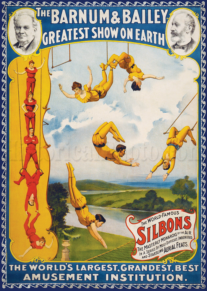 Barnum & Bailey: World-Famous Silbons