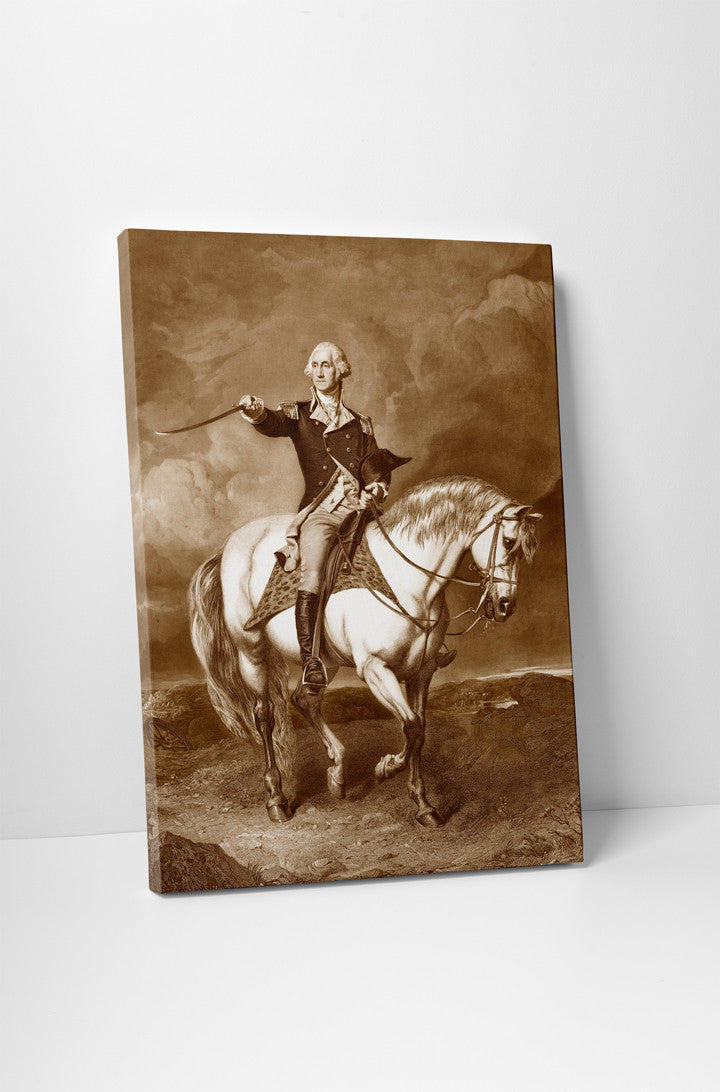 Washington on Horse