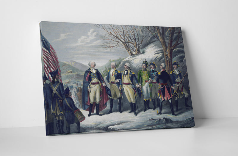 Washington and Revolutionary Friends