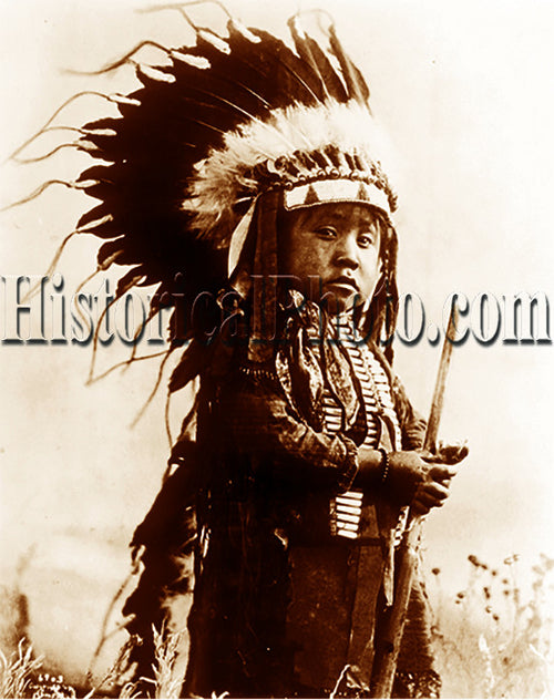 Future Cheyenne Warrior