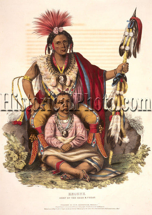 Keokuk, Chief of the Sacs & Foxes