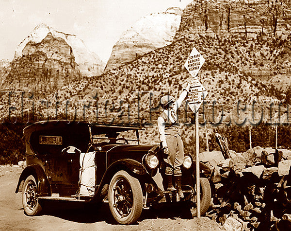 Doris B. at Zion National Park