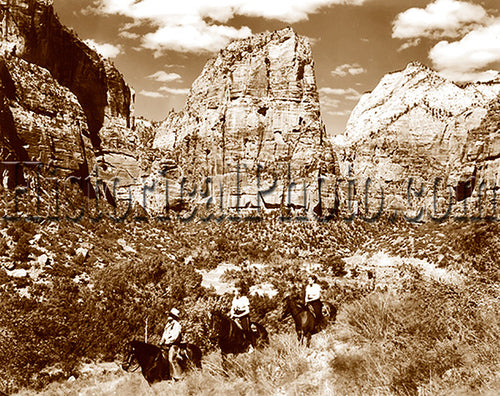 Zion on Horseback