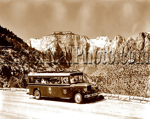 Tour Bus, Zion