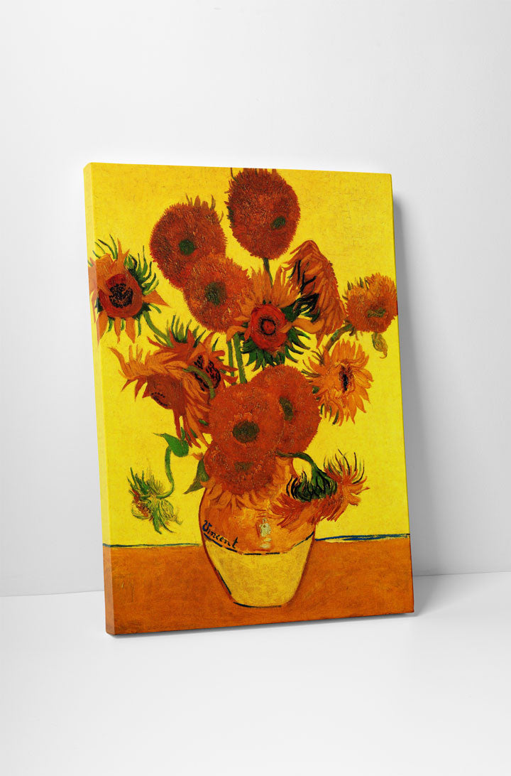 Still Life: Vase with Fifteen Sunflowers