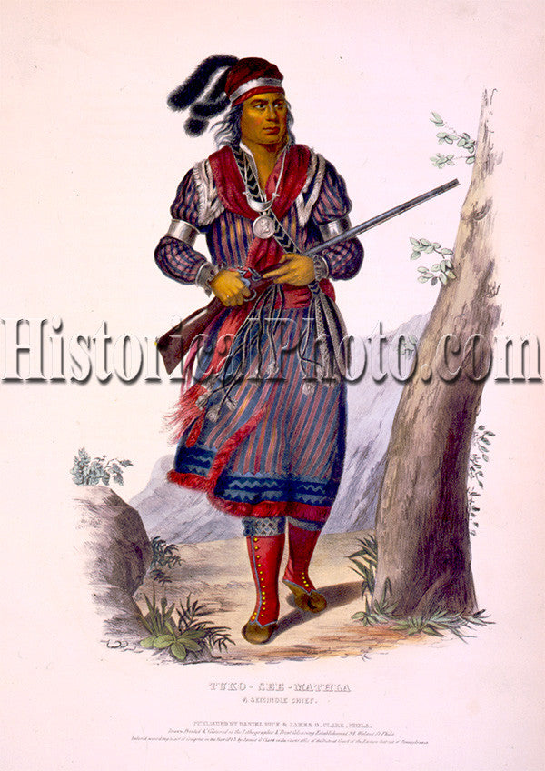 Tuko-See-Mathla, a Seminole Chief