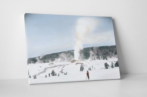 Giantess Geyser in Winter 1