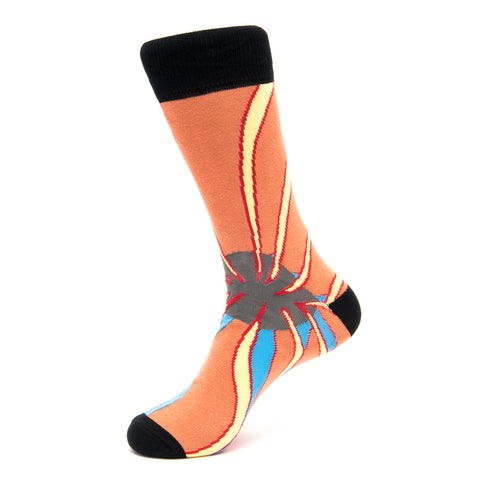 Cleared for take off Socks by Aaron Collaco. Sock Geeks Design competition