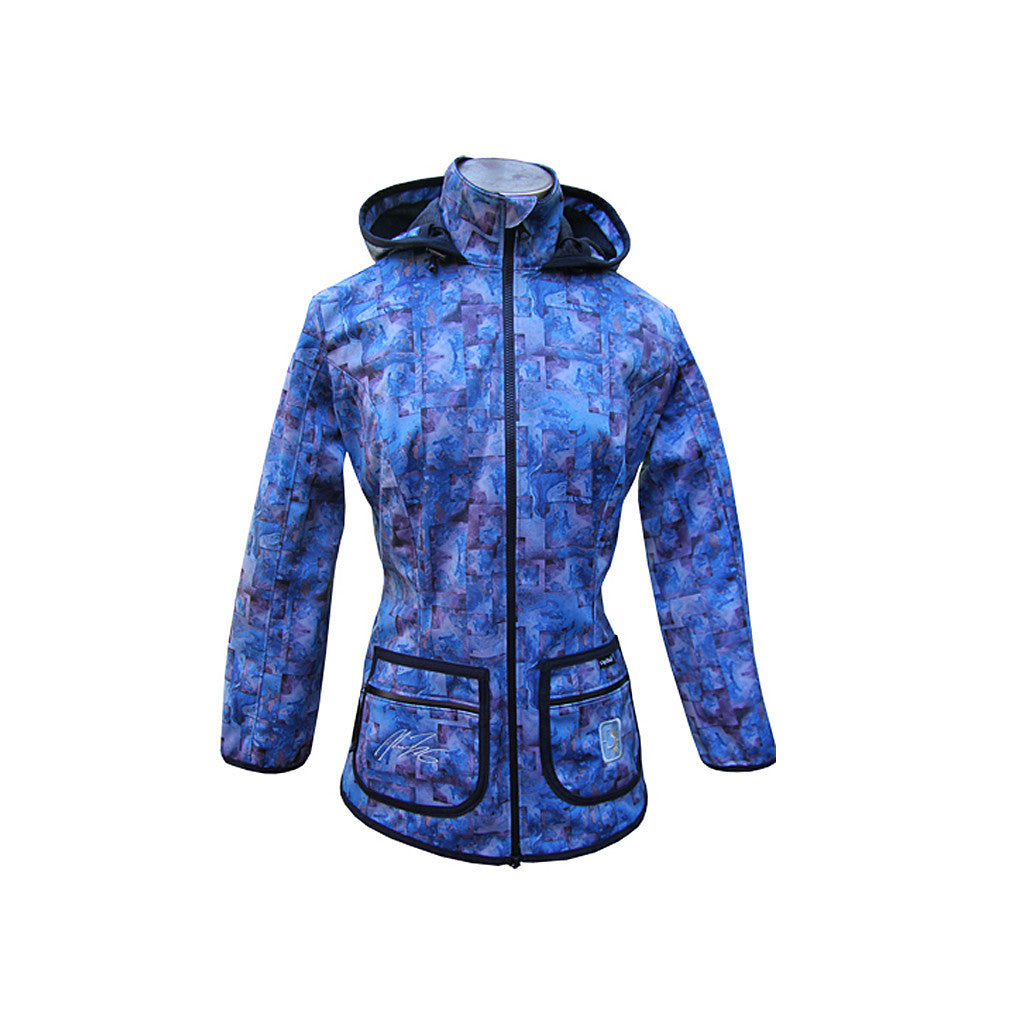 Warmest women's winter jacket, hiking jacket, long waisted jacket