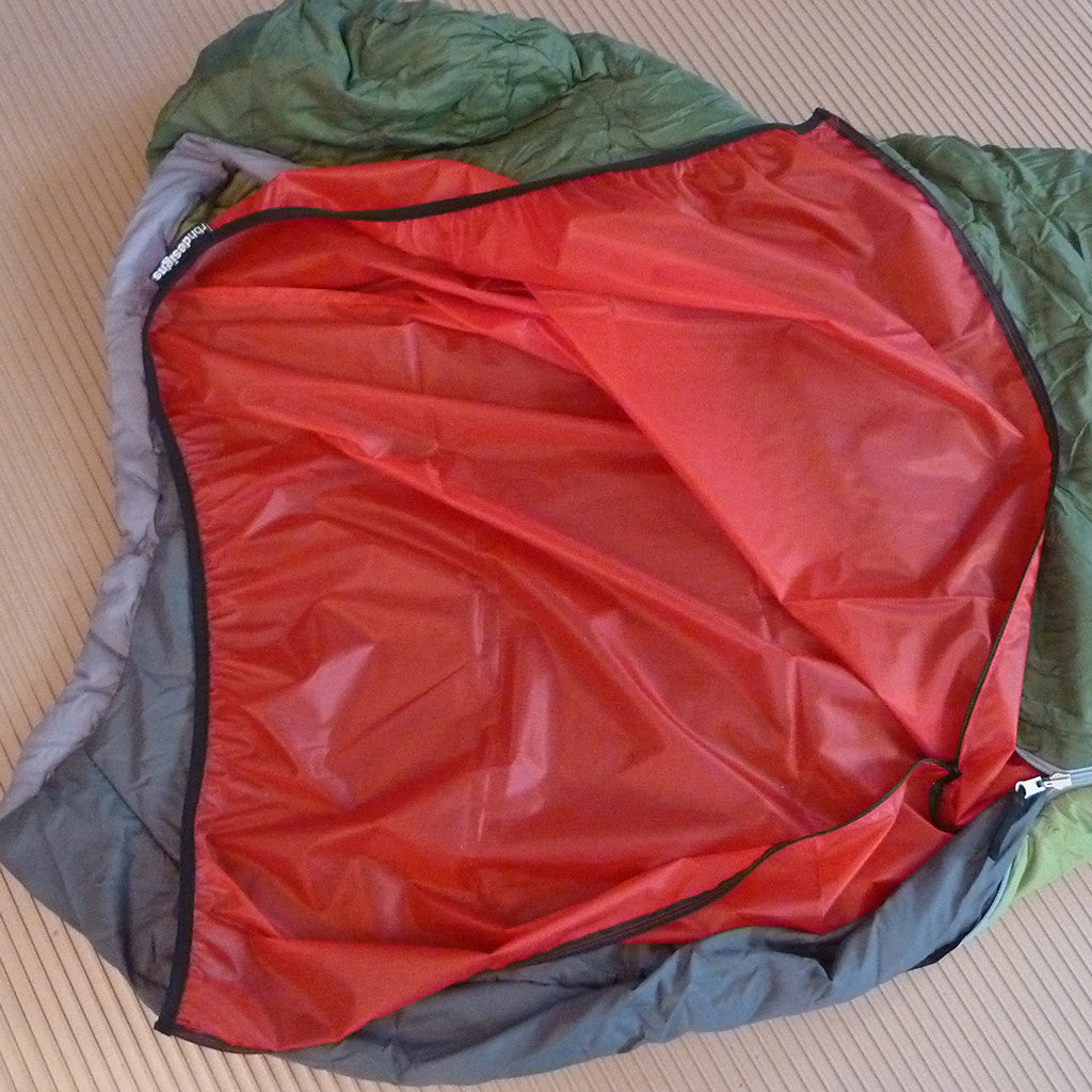 Warmest bag liner, lightweight bag liner