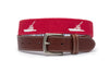 Game Fishing Boat Belt (Red)