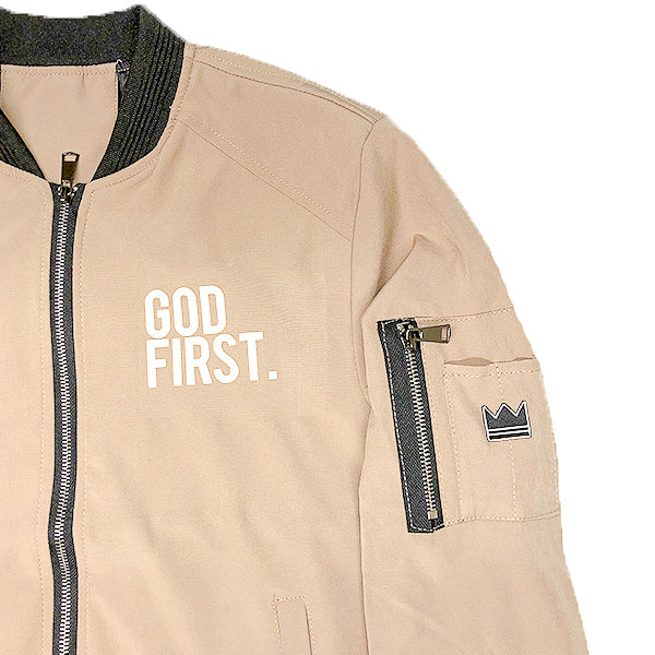 God First. - Bomber Jacket (Mens)