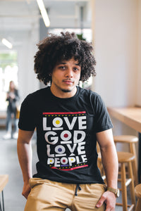 Love God 90's Tee - Black