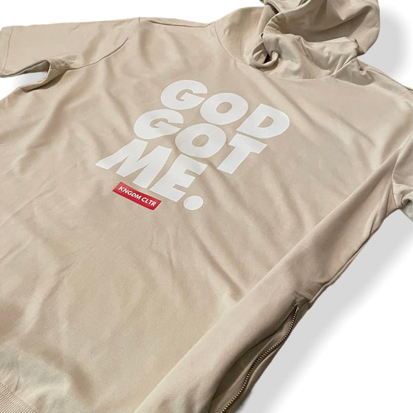 God Got Me - Zipper Hoodie