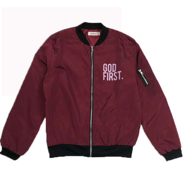 God First. - Maroon Bomber