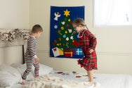 Christmas Tree Felt Wall Set - Deluxe