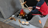 Campfire & S'mores 3D Interactive Play Set