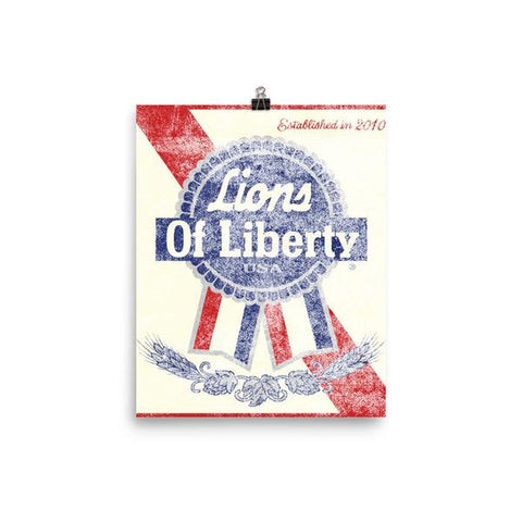 Lions of Liberty Posters!