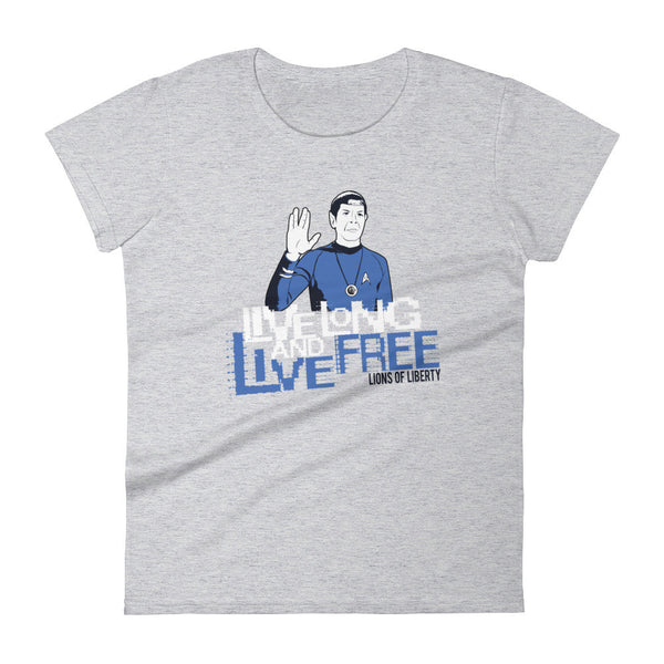 Live Long and Live Free - Women's short sleeve t-shirt