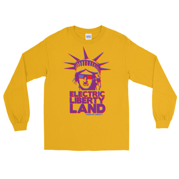 Electric Liberty Land - Long Sleeve T-Shirt