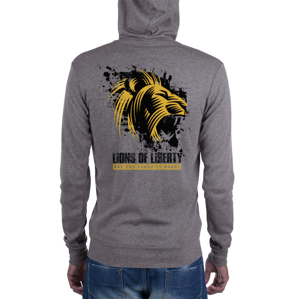 Ready to Roar Zip hoodie