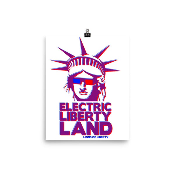 Electric Libertyland poster