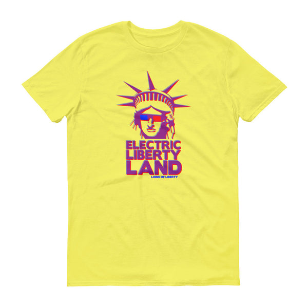 Electric Liberty Land - Men's T-shirt