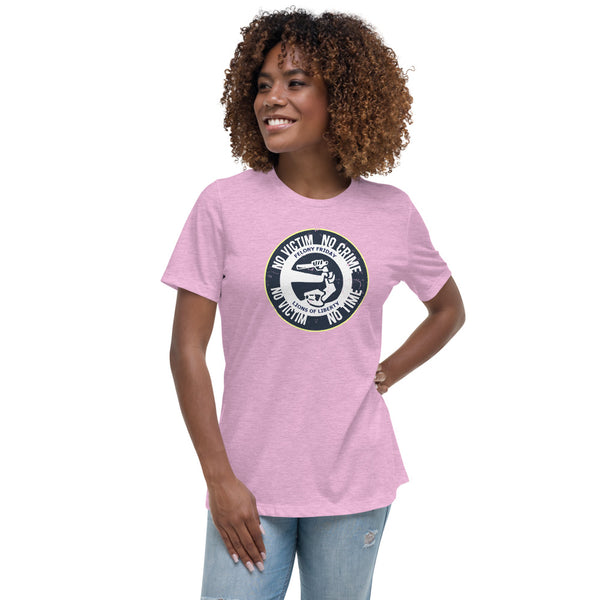 No Victim, No Crime Women's Relaxed T-Shirt
