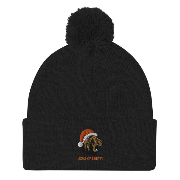 Lions of Liberty Holiday Beanie