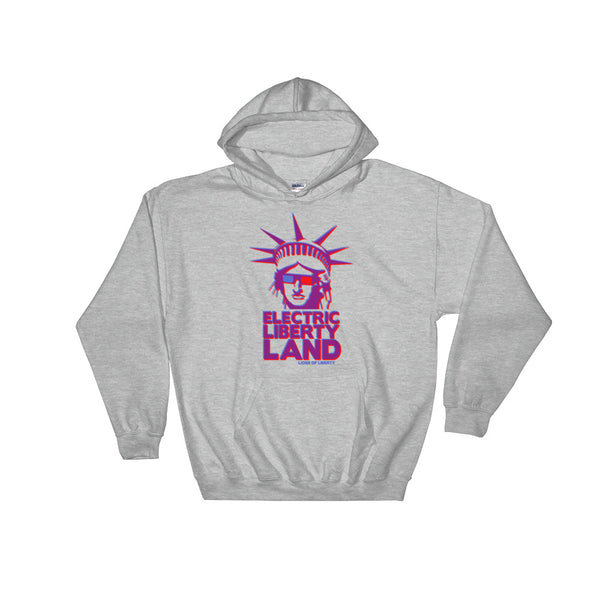 Electric Liberty Land - Hooded Sweatshirt