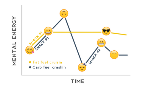 Energizing Fats vs Carb Crashes