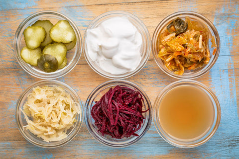 Probiotic foods for better mood