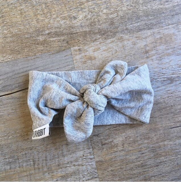 Grey Melange Headbands