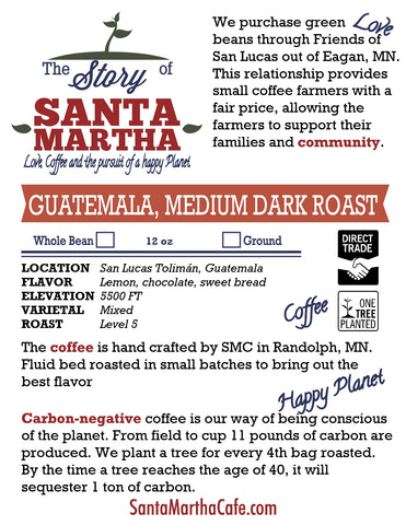 Guatemalan Medium Dark Roast
