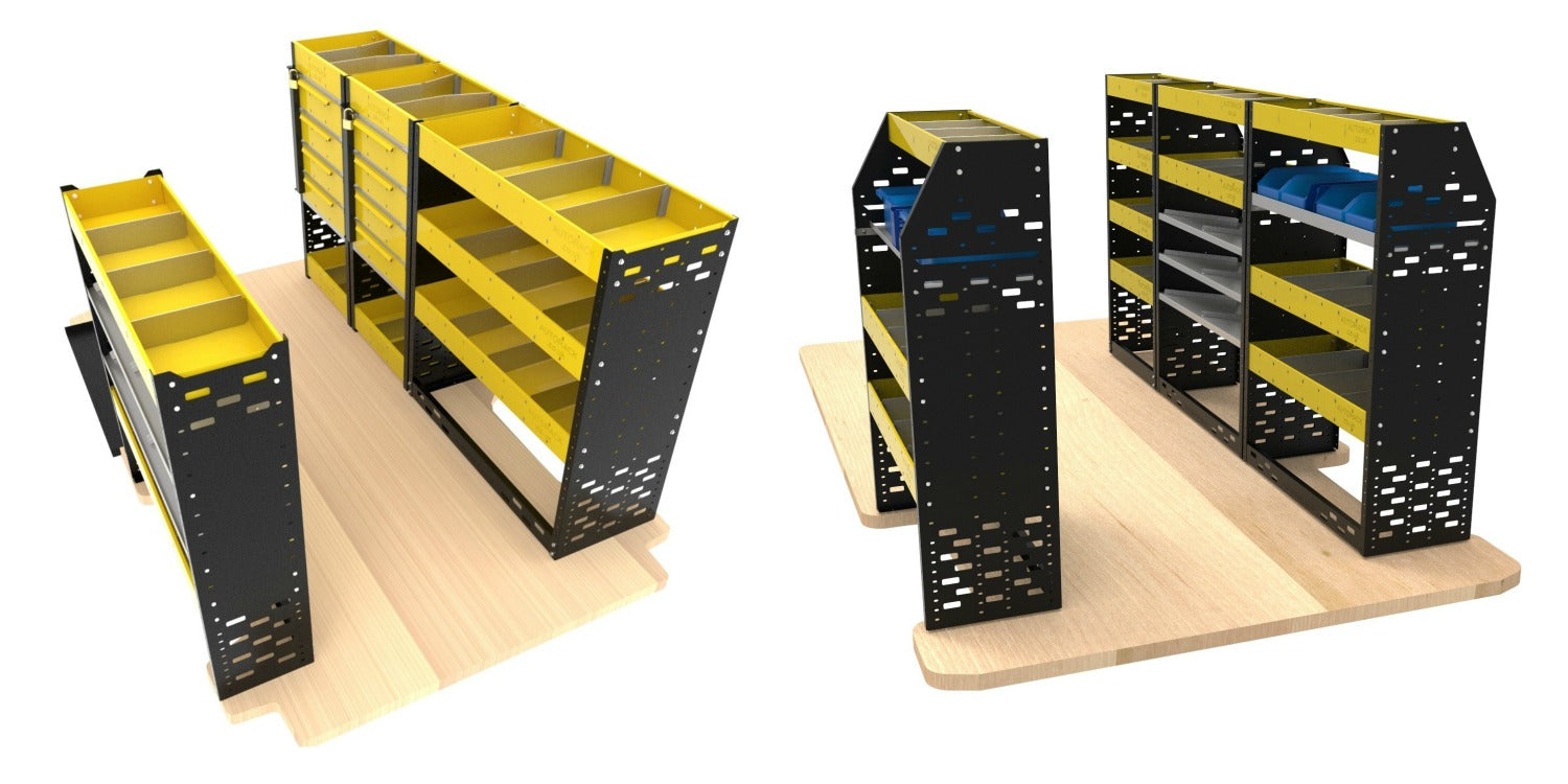 Autorack Extra Heavy Duty Van Racking Systems