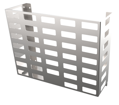 Stainless Steel - HORIZONTAL WALL MOUNTED BASKET