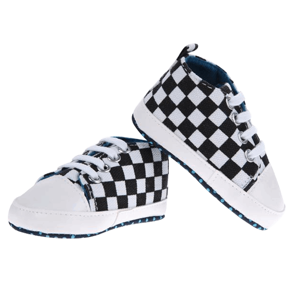 Black&White Cool Shoes  -  Tiny Cupids